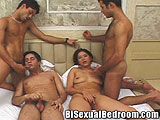 Bisexual Group Sex Fling